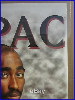 Vintage 2PAC Hip hop's 1971-1996 old school Rap poster 1997 2481