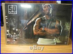 Vintage 50 Cent old school Rap poster 2003 195
