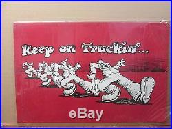Vintage 70s Keep On Truckin original inspiration poster 10494