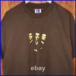 Vintage 90s Goodfellas T Shirt Sz Xl True Movie Promo Poster Rare Robert Di Nero
