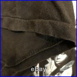 Vintage 90s Juice Movie Promo Poster Shirt Tupac Rap Tee Sz M / L Black