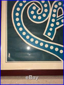 Vintage Argentina 1972 Cabaret Liza Minnelli Grey Signed Original Movie Poster