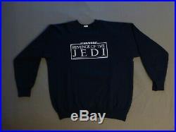 Vintage Authentic Original Star Wars REVENGE of the Jedi Crew Sweatshirt