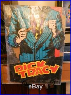 Vintage Dick Tracy Breathless Mahoney & Big Boy Movie Standee (1990) New In Pack