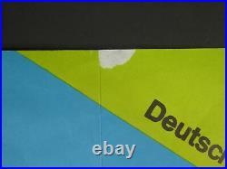 Vintage Die Beatles Hi-Hi-Hilfe! 33 x 23.5 Help Original Film Poster German RARE