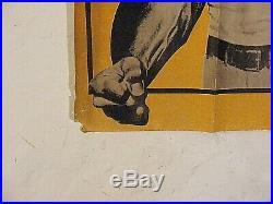 Vintage Film Poster The Street Fighter Charles Bronson James Coburn