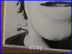 Vintage Herman Munster original tv show black and white poster 10240