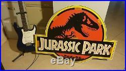 Vintage Jurassic Park Wooden Poster 1992