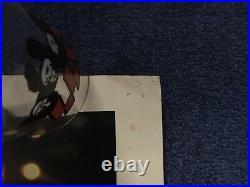 Vintage KISS PROMOTIONAL LIVE Uncensored VHS Movie Poster 1985 PolyGram RARE
