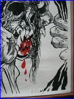 Vintage Misfits original music punk rock band poster 14044