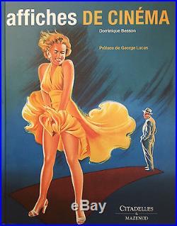 Vintage Movie Poster Book Affiches de Cinema Besson Marilyn Monroe Film Art BIG