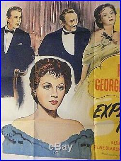 Vintage Movie Poster Experiment Perilous Hedy Lamarr George Brent