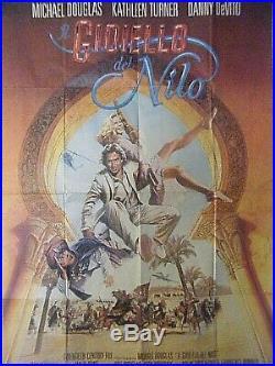 Vintage Movie Poster Jewel Of The Nile Italian Film