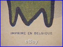 Vintage Movie Poster The Stranger Linen Backed Belgium Original 1946