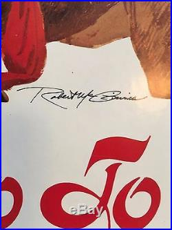Vintage Movie Poster The Teasers Go to Paris Signed by Artist Robert McGinnis