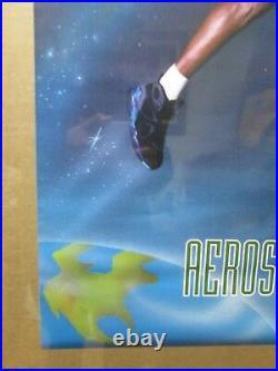 Vintage NIKE Aerospace Jordan basketball poster 12555