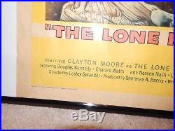 Vintage Original 1957 Lone Ranger and the Lost City of Gold Movie Poster 58/240