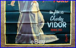 Vintage Original 1972 GILDA RITA HAYWORTH Movie Poster Film Art 1sh Noir