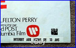 Vintage Original 1973 CLINT EASTWOOD DIRTY HARRY Movie Poster 1sh Film noir