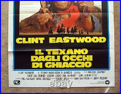 Vintage Original CLINT EASTWOOD OUTLAW JOSEY WALES Movie Poster film art 1sh