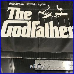 Vintage Original CineMasterpieces THE GODFATHER Movie Poster Custom Frame