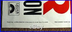 Vintage Original EASY RIDER Movie Poster Jack Nicholson motorcycle film art 1sh