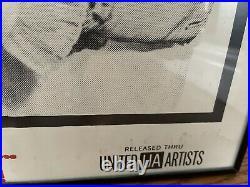 Vintage Original Movie Poster Some Like It Hot Framed