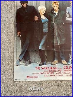 Vintage Original QUADROPHENIA 1970s Size A0 German Movie POSTER