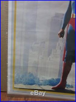Vintage Poster DC Comics Superman the Movie 1978 Inv#1022