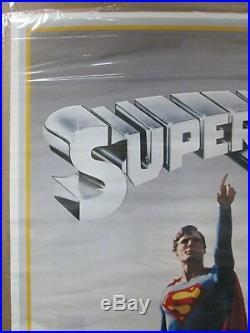 Vintage Poster DC Comics Superman the Movie 1978 Inv#3577