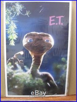 Vintage Poster E. T. The Extra-Terrestrial Movie 1982 Alien Inv#G430