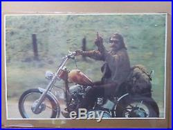 Vintage Poster Easy Rider Dennis Hopper Billly Biker chopper Movie1960s Inv#812