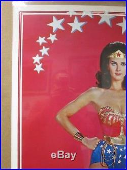 Vintage Poster Lynda Carter as DC Comics Wonder woman the Movie 1977 Inv#1081