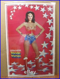 Vintage Poster Lynda Carter as DC Comics Wonder woman the Movie 1977 Inv#3197