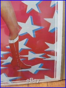 Vintage Poster Lynda Carter as DC Comics Wonder woman the Movie 1977 Inv#716