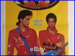 Vintage Poster Prince & Guest Batman 1990 Promo Pin-Up Movie Music Memorabilia