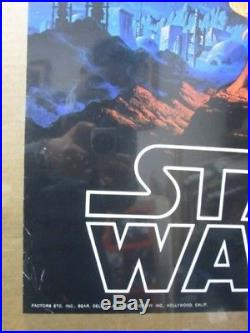 Vintage Poster Star Wars Starwars the Movie 1977 Inv#73