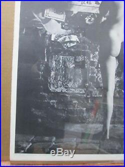 Vintage Poster political 1969 womens lib Eat At Joe's Inv#3890