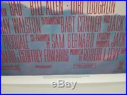Vintage RARE 1986 RAD Rolled One Sheet Poster LOUGHLIN BMX BIKE RACING HELLTRACK
