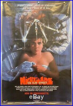 Vintage ROLLED Nightmare on Elm Street Poster 1985 Heather Langenkamp Nancy