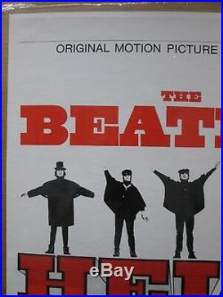 Vintage Rock n' Roll THE Beatles HELP! Motion picture soundtrack Inv#G1615