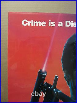 Vintage Stallone Cobra 1986 movie poster 839