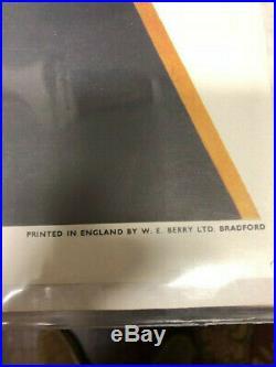 Vintage Stanley Kubrick A Clockwork Orange 1972 Poster British Quad Rolled