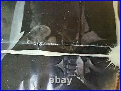 Vintage Star Wars 1977 Style A Folded Poster 27x41