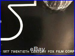 Vintage Star Wars Hildebrandt 1977 Movie Poster NEW 28 X 20