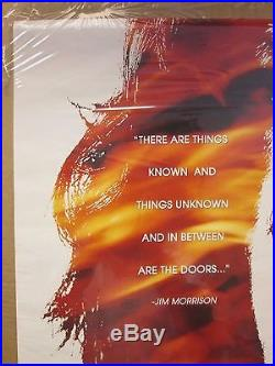 Vintage The Doors Jim Morrison original rock band music artist poster 11970