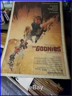 Vintage The Goonies Original Theatrical Movie Poster 1985