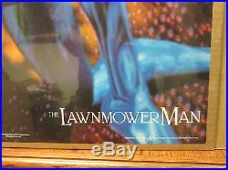 Vintage The Lawnmower Man original Cybersex movie poster 6970