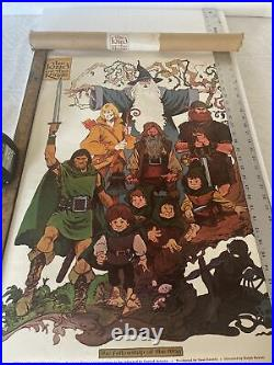 Vintage The Lord of the Rings fellowship of the ring 1978 vintage poster