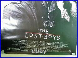 Vintage The Lost Boys Original Movie Poster